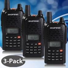 3 PCS-BAOFENG BF-V85 2-Way Radio Walkie Talkie VHF/UHF 136-174/400-480MHz  Dual Band Radio Handheld Tranceiver portable CB Radio