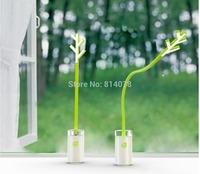 Buy 1 get 1 free 2014 IKEA creative Air Ions(NAI) Leaf Lamp, Purified Air Computer Desk Lamp table lamp,Free shipping