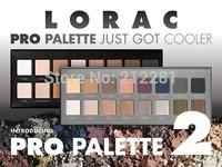 Factory Direct!60Pieces/Lot New LORAC Pro Palette And Pro Palette 2 16 Colors Eyeshadow & Primer!