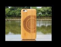 2014 NEW 100% Handmade Genuinewalnut Wood Hard Back Case For iPhone 6 Air iPhone6 Wooden Cover case for iphone6 4.7inch 14styles