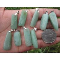 Natural green aventurine jade pendant nunatak granule crystal pendant Fashion pendant wholesale price