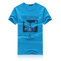 2014 latest men's T-shirt cotton T-shirt T-shirt printing male fashion