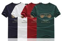 Men's round neck T-shirt printing summer cotton short-sleeved T-shirt men's wholesale T-shirt