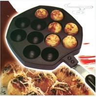 Octopus Barbecue Plate Takoyaki Burning Board Cake Pans  JJ177
