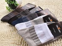 2014 NEW Cotton Soft Men Socks for  Hosiery socks & Color random (Free Size)