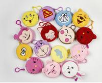 Cute Cartoon Plush Zero Purse / Mixed Style Coin Key Case gift drop shipping