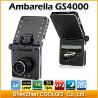 Blackview GS4000 Newest Ambarella A2S60 GPS Car DVR 1080P full HD Car Camera Video Recorder Registrator 140 Degree Wide Angle