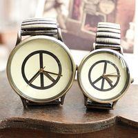 Lovers watches luxury brand stainless steel stylish fashion quartz Lovers' Watch pair  men and women Dress wristwatches