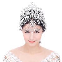 Luxurious rhinestone Queen crown bridal diadem Princess crystal  perfect bridal tiaras wedding  dress accessories