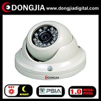 QA-IP3133HD onvif PSIA P2P support audio 720P 1 Megapixel Metal Dome IP Camera