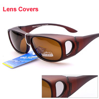 Polarized LensCovers Sunglasses Fit Over Sun glasses Wear Over Prescription Glasses For Outdoor Driving Cycling Sports S187