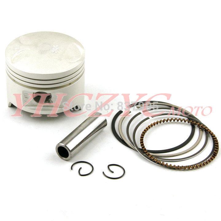 Free Shipping For HONDA STEED400 1992-1997 Motorcycle High Quality Chromium-faced aluminium piston rings kit(China (Mainland))