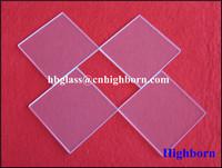 clear quartz plate