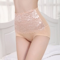New arrival Lady Sexy High Waist Underpants Girdle Body Shaper Slimming Lace Underwear 2014 Hot