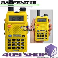 UV-5R (YELLOW) BAOFENG UU 136-174/400-520Mhz Radio