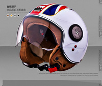 Free shipping BEON Classic limited edition authentic knight helmet half helmet motorcycle helmet  warm winter