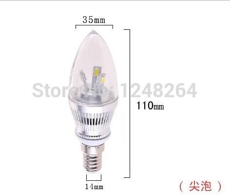 New LED candle light E14 5730SMD 6LEDS tiny screw droplight LED a bubble AC220V 230V 240V led lighting chandelier bulbs(China (Mainland))
