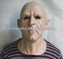 Les éco - Halloween accessoires adultes réaliste Latex vieux masque(China (Mainland))