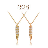 2014ROXI fashion jewelry, clear Austrian crystal, women necklaces.,Mosaic man-made necklaces,Chrismas/wedding gift2030043705A