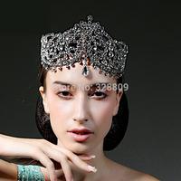 Luxurious rhinestone Queen crown  Princess crystal frontlet bridal diadem  perfect bridal tiaras wedding  dress accessories