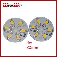 Warm white Cool white 3C2B 300mA 3w LED Ledman 5730 SMD module for led bulb lamps 10pcs/lot Free Shipping