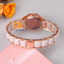 2014 Luxury Design Watches Fashion dress Women Analog Crystal Rhinestone Ceramic Watch Quartz Wristwatches Lady Casual