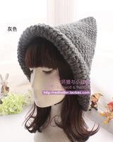 2014 Winter Warm knitted solid caps women's bucket hats