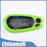 Eagle Star JS-221A LCD Digital 3D Pedometer Step Run Distance Calorie Walking Counter Pocket Clip Free Express 10pcs/lot