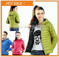 QA08 Europe new women  fashion Candy colors slim Cotton-padded jacket Down Jackets coat XS-XL free shipping