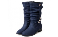 50 49 48 47 46 45 44 43 32 33 Customize Women Over-Sized Autumn Wingte Boots Girls Pointed Toe Extra Large Size Small Size 2 18