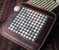 45*45*3cm natural xiuyan jade heating cushion