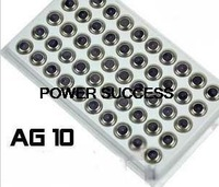 Free shipping Brand New 50PCS/LOT AG10 G10 LR1130 SR1130 L1131 LR1130 G10A Watch Button Cell Coin Battery