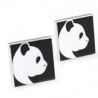 Panda Cufflink Cuff Link 15 Pairs Wholesale Free Shipping