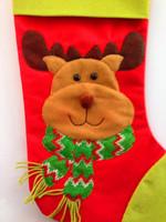 2014 Christmas Decoration Party Products Decoration Natal Enfeites de natal Santa claus Christmas Stocking papai