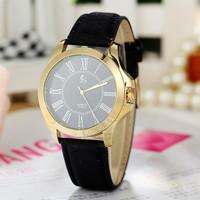 High quality PU leather strap watches women dress watches Quartz watches Wristwatches AW-SB-1119