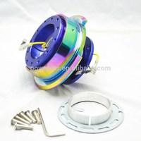6-holes quick release steering wheel snap off hubs manufacturer& Steering Wheel Hubs
