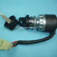 5 wires Ignition key switch waterproof 150cc 250cc go kart ATV Quad