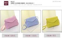 Summer new fashion handbags Korean version of the rivet packet shoulder bag Messenger Bag College Wind