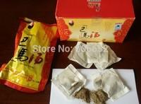 5 * 20bags each pack  English Arabic user manual 5*20bags *10g  bama foot herbal