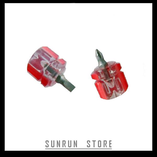 Stubby Mini Screwdriver Kit Slotted Phillips Screwdriver Set(China (Mainland))