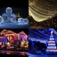2*2.5M leds Festival String Light Fairy Lights Christmas new year EU Plug guirlande lumineuse