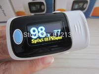8pcs Alarm setting!!! New Version!! CE FDA OLED Finger Pulse Oximeter Blood Oxygen SpO2 Saturation Oximetro Monitor
