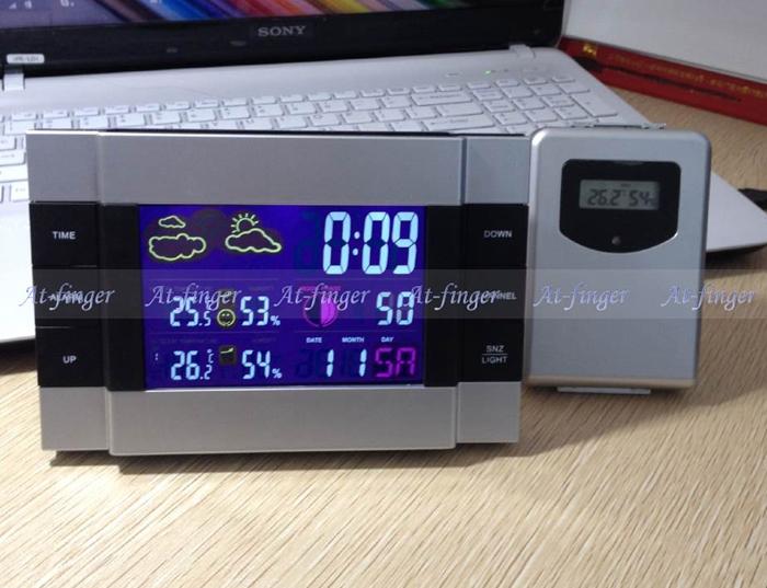 D 39 alarme thermom tre sans fil achetez des lots petit for Thermometre exterieur wifi