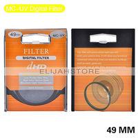 49mm UV Digital Filter Lens Protector for all 49mm Canon Nikon DSLR SLR Camera Free Shipping