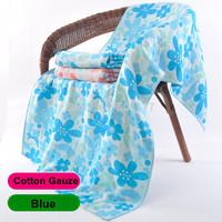 "New 2014 Brand Towel -- 1pc/lot  80*144CM(31""*56"") 100% Cotton Four Gauze Beach Towel Dyed Jacquard Adults Bath Towel 020503"