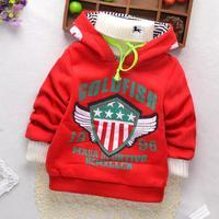 New High Quality Boys hoodies Winter warm hoody Children sweatshirt kids clothes for children