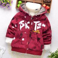 New High Quality Boys Zipper minnie hoodies Winter warm hoody Children sweatshirt kids Clothes for children