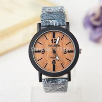 Fashion women watches pu leather watches women luxury round watches women dress clock causal wrist watch new fashion style -F07