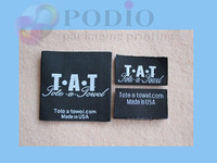 5000pcs/lot Custom garment labels/woven garment labels/brand garment labels free shipping