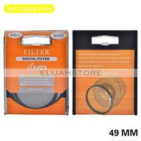 49mm Soft Digital Filter Lens Protector for all 49mm Canon Nikon DSLR SLR Camera Free Shipping